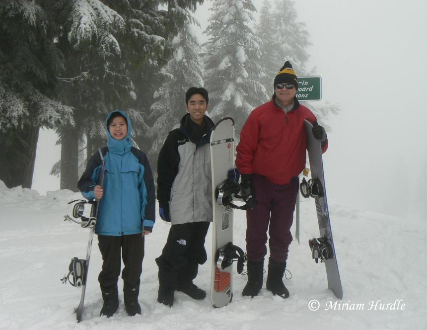 Fog in snow 5