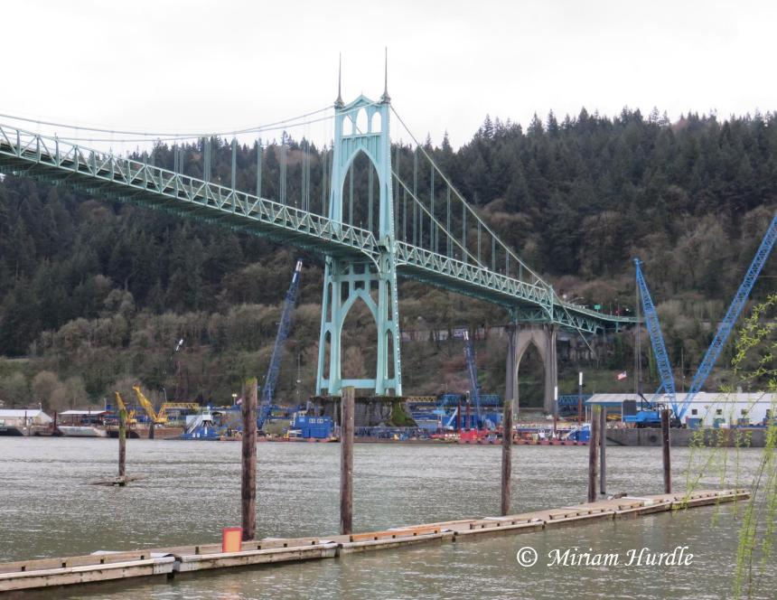 2017.04.04 St. Johns Bridge 1