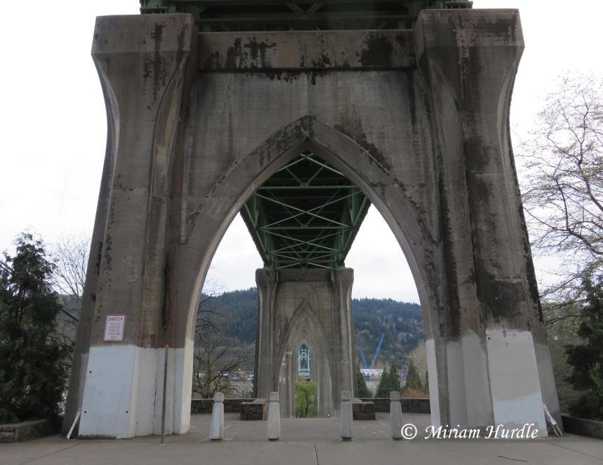 2017.04.04 St. Johns Bridge 3