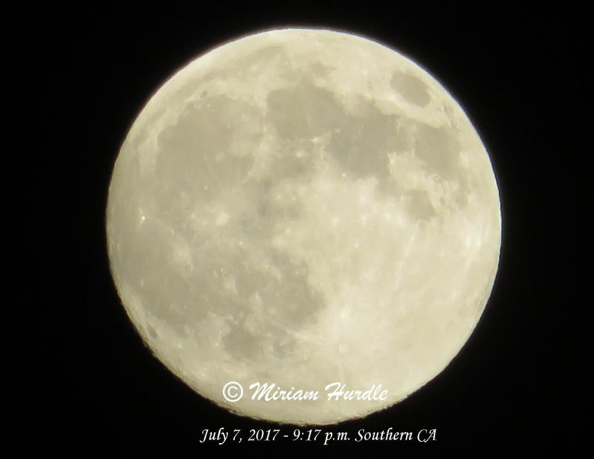 Moon July 2017