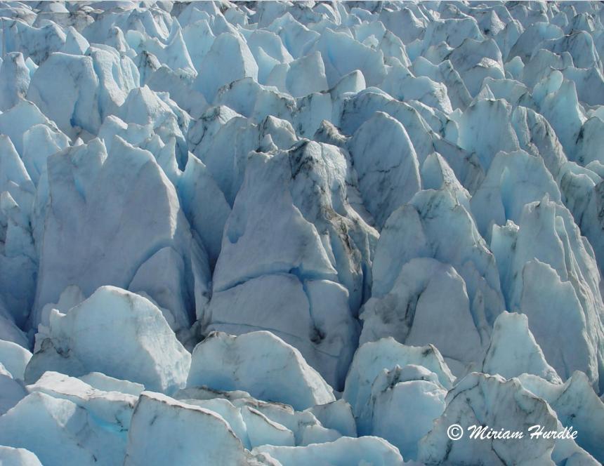 Jagged glacier 3