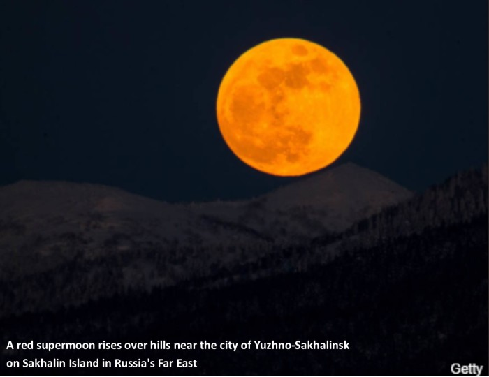 Super blue blood moon 2
