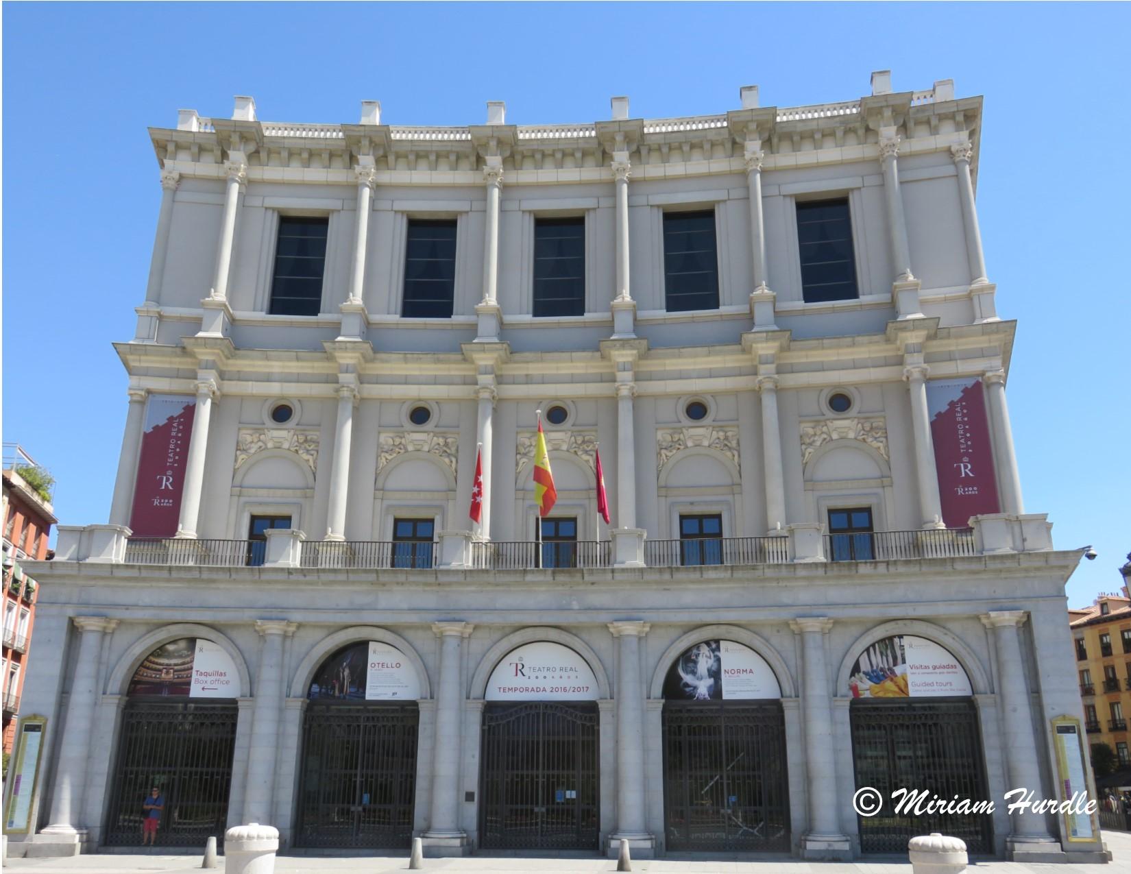 opera house Madrid 1