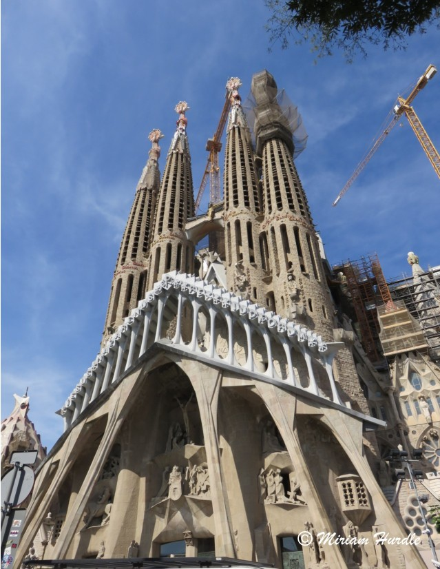 1. Sagrada Familia Cathedral Barcelona