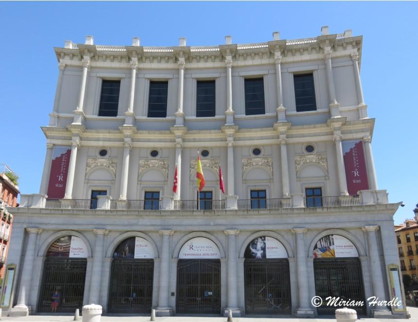 3. Teatro Real opera house Madrid