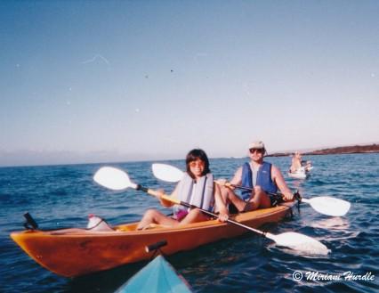 7.honeymoon kayaking