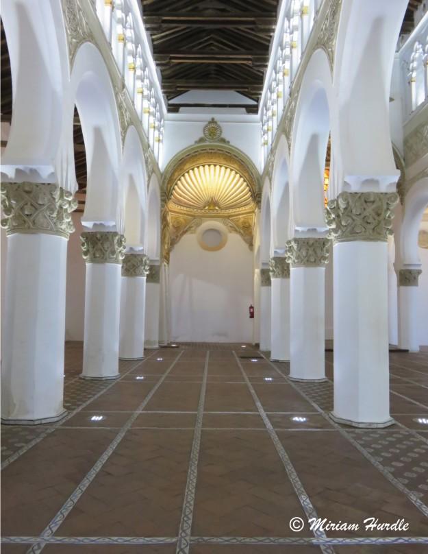 8. Santa Maria de La Blanca Synagogue Toledo