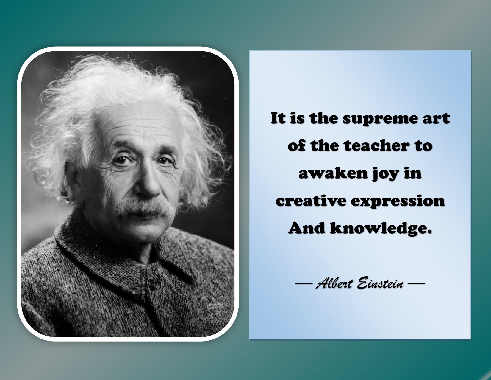 Expression - Albert Einstein