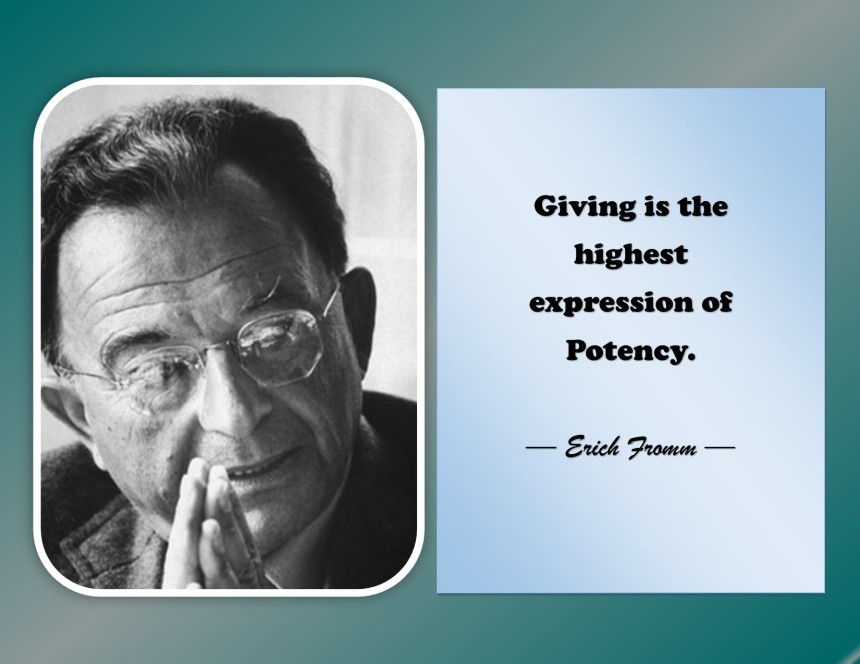 Expression - Erich Fromm