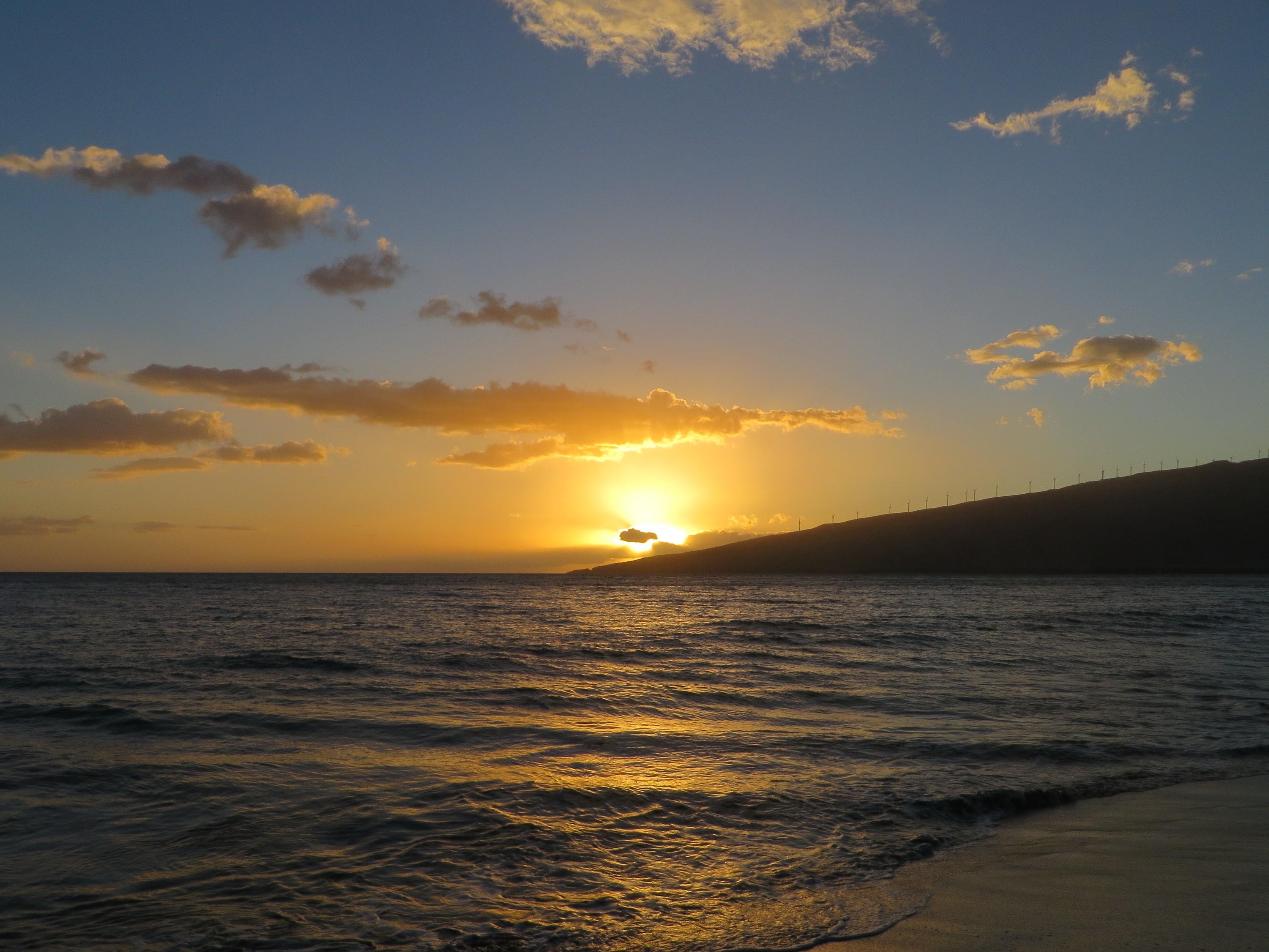 Maui sunset 2014.10
