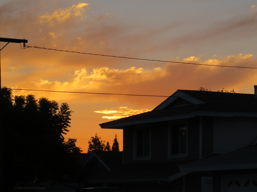 5.2017 sunset in the neighbor