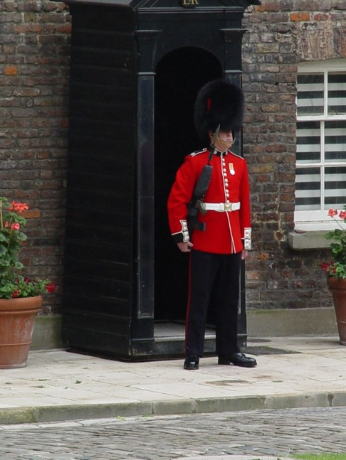 2.Roral Guard at Tower of London