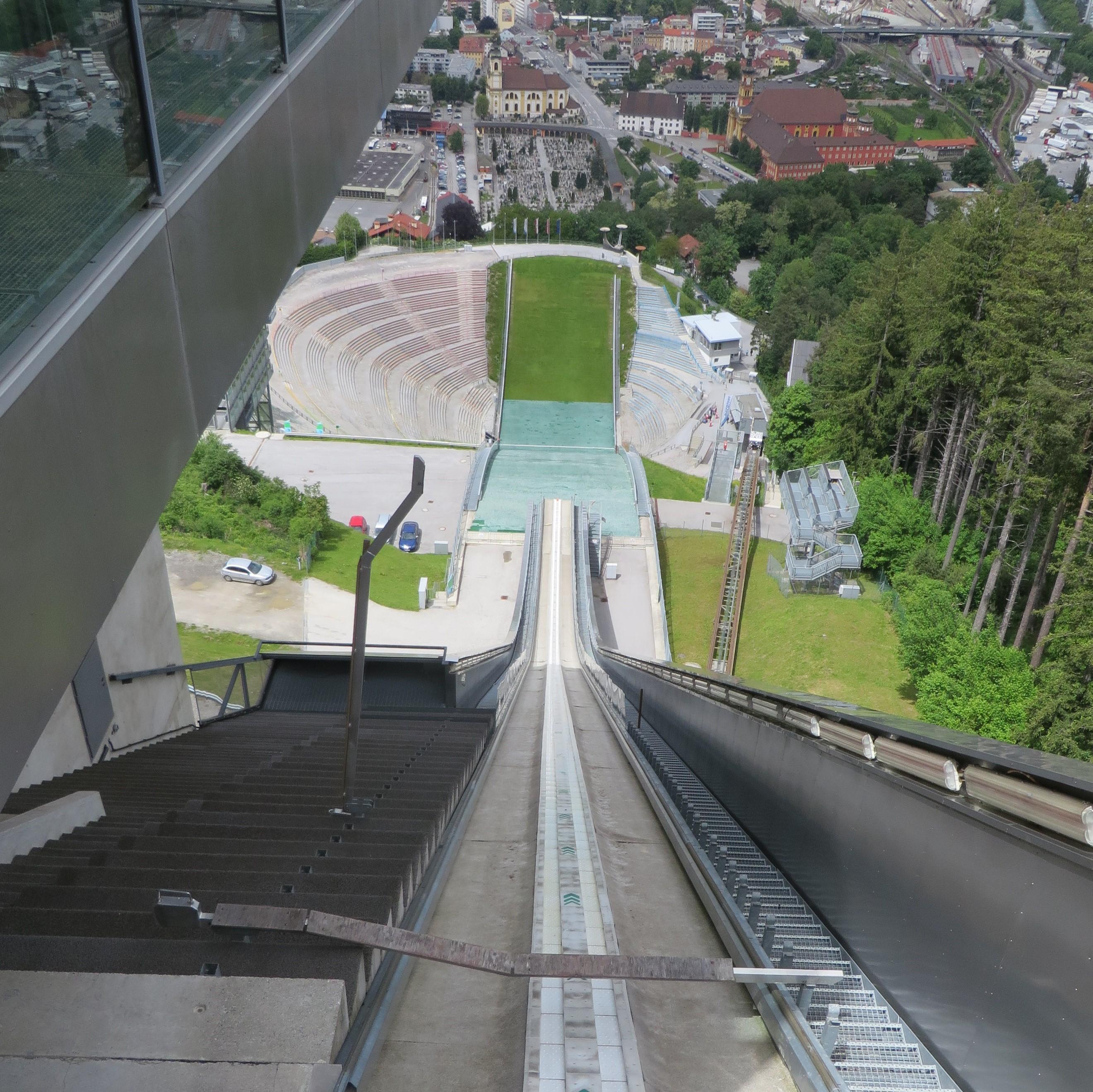 6.ski jump Innsbruck